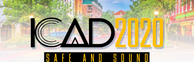 ICAD 2020 banner