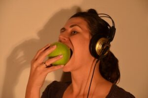 Apple Eating Sonification